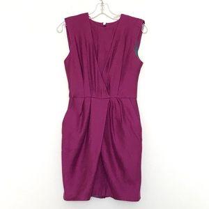 ASOS Fuchsia Dress With Pockets